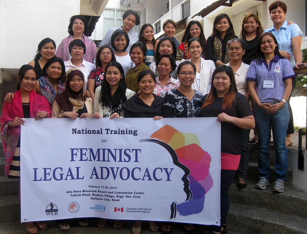 National Training on Feminist Legal Advocacy