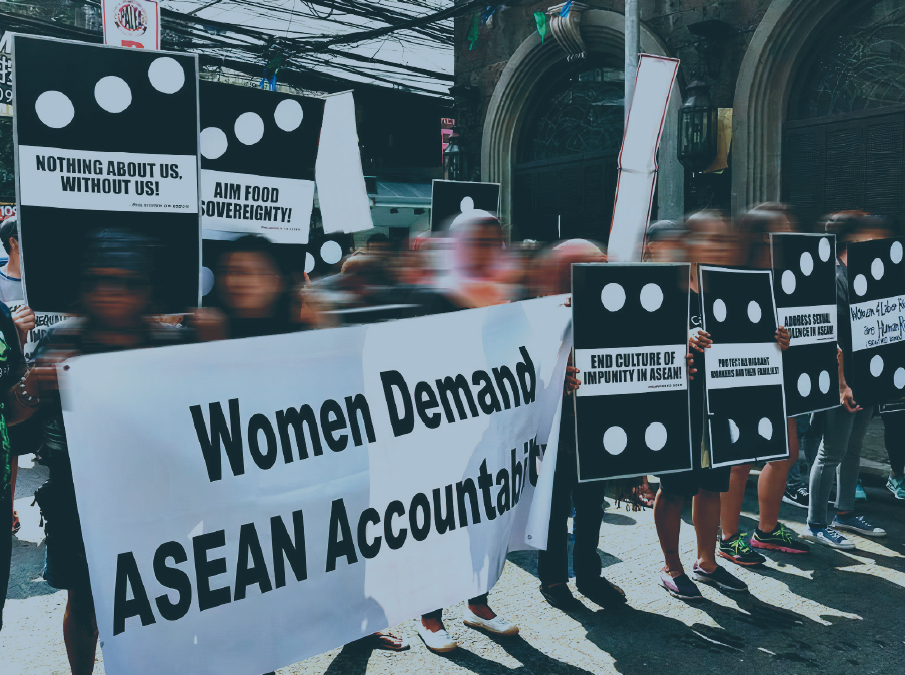 """Launching of WEAVE's """"A Feminist Economic Justice Agenda for the ASEAN"""""""
